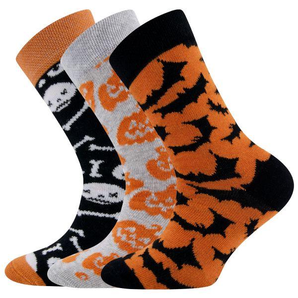 Art.405060 sweater grau mel.-schwarz-papaya